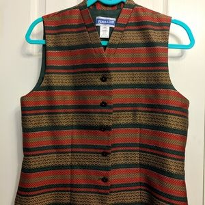 **SALE** NWOT - Pendleton Multi-color Women's Vest